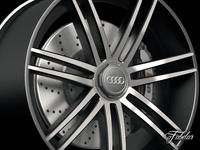 Audi R8 rim 3D Model