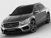 Mercedes GLA AMG package 3D Model