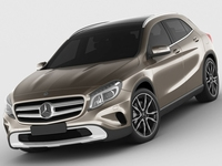 Mercedes GLA 3D Model