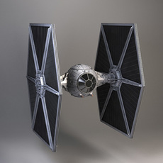 Star Wars TIE-Fighter 3D Model