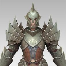 Ancient Warrior Dhakala 3D Model