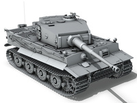 Tiger - Late Production 3D Model