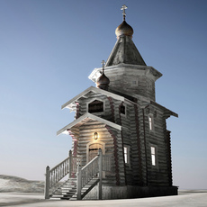 Trinity Church Antarctica 3D Model
