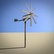 farm mill 3D Model