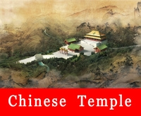 Chinese Ancient Temple 1 3D Model