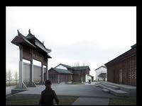 Chinese Ancient Building 001 3D Model