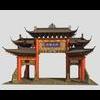 20 13 03 640 china ancient torii 3 2 4