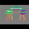 20 13 03 711 china ancient torii 3 3 4