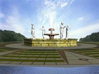 fountain 02 3D Model
