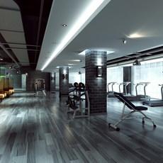 Gymnasium 1 3D Model