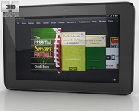 Amazon Kindle Fire HD 8.9 inches 3D Model