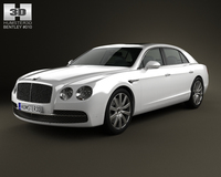 Bentley Flying Spur 2014 3D Model