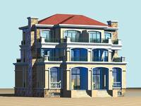 House 018 3D Model