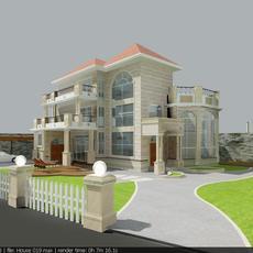 House 019 3D Model