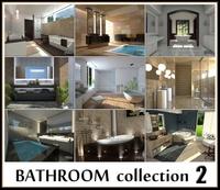 Bathroom collection 2 3D Model