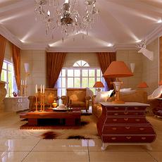 Living room 1 3D Model