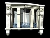 France Architecture Door Collection 3D Model