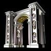 20 14 25 850 vatican architecture door 002a 4