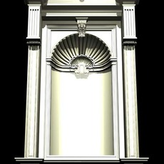 Vatican Architecture Windows collection 3D Model