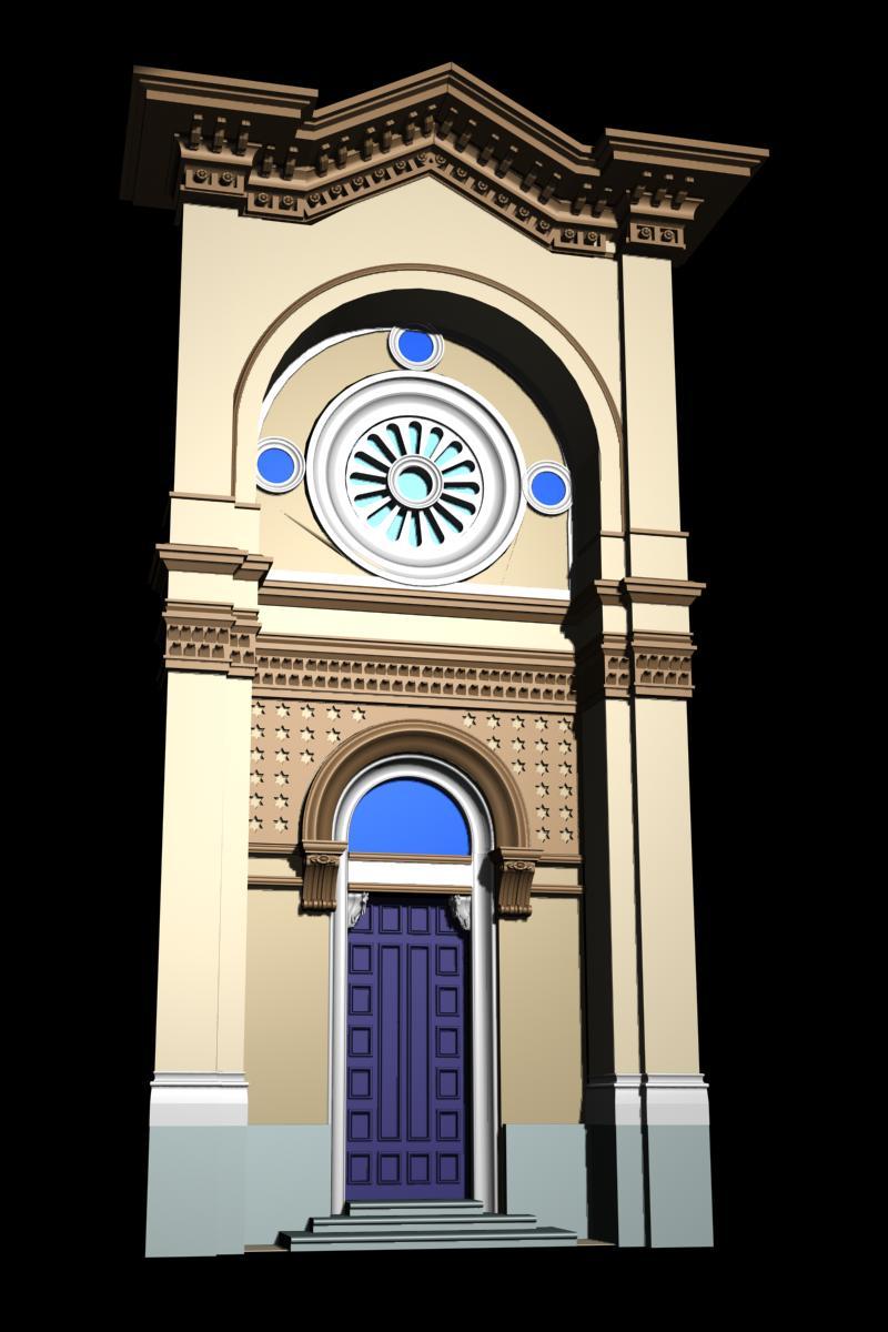 monaco architecture door collection 3d model. Black Bedroom Furniture Sets. Home Design Ideas