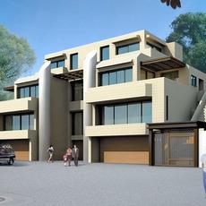 Architecture 079  -  villadom 3D Model
