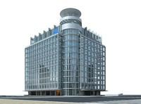 Architecture 099 3D Model