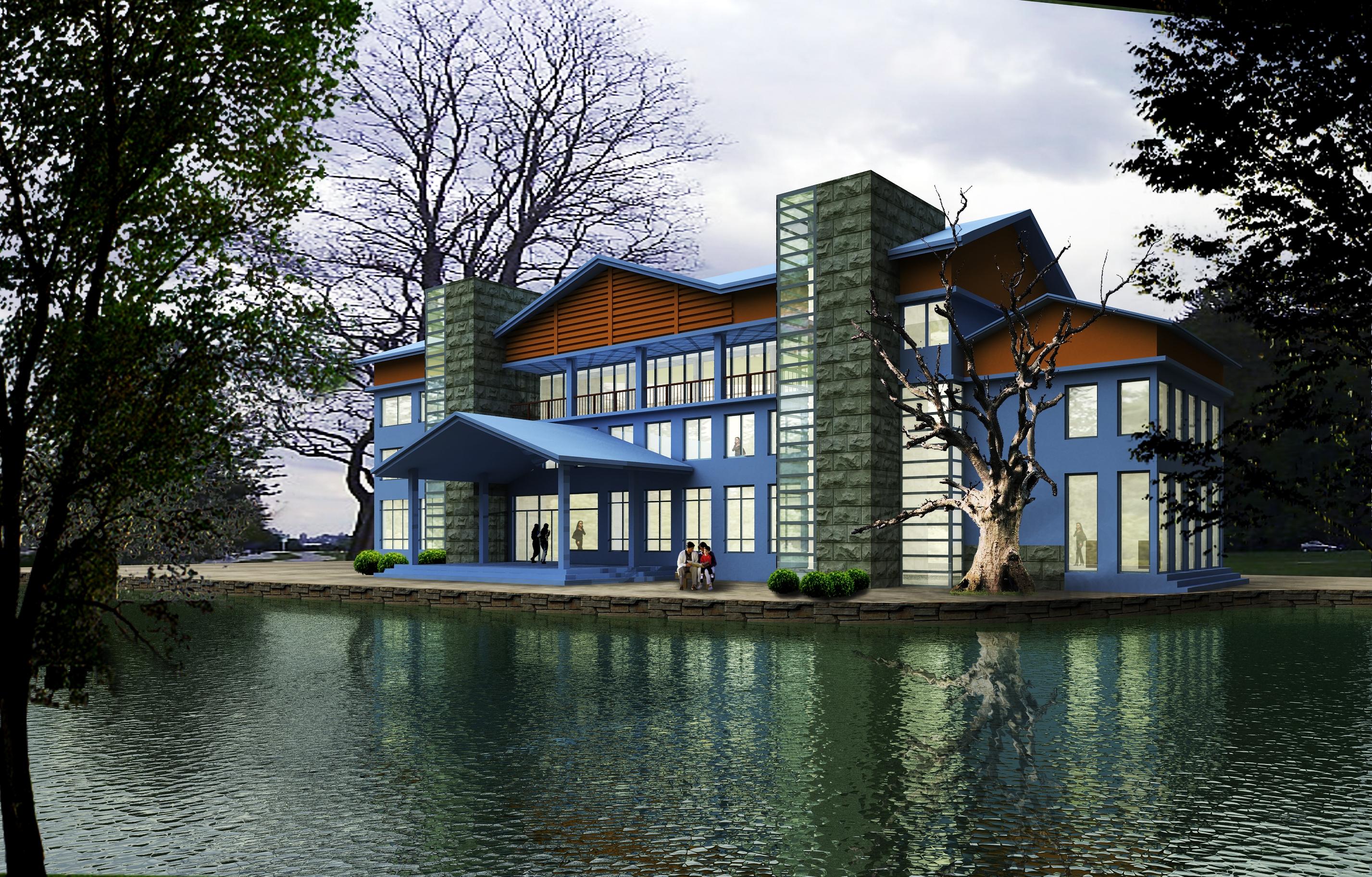 Architecture 101 villadom 3d model for Architecture 101