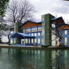 Architecture 101  -  villadom 3D Model