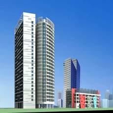 Architecture 121 3D Model