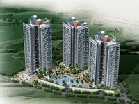 Architecture 129 High Rise Residential Building 3D Model