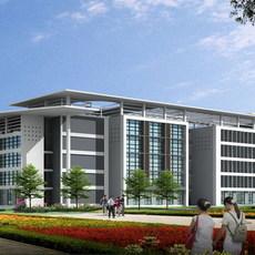 Architecture 130  Commercial Building 3D Model