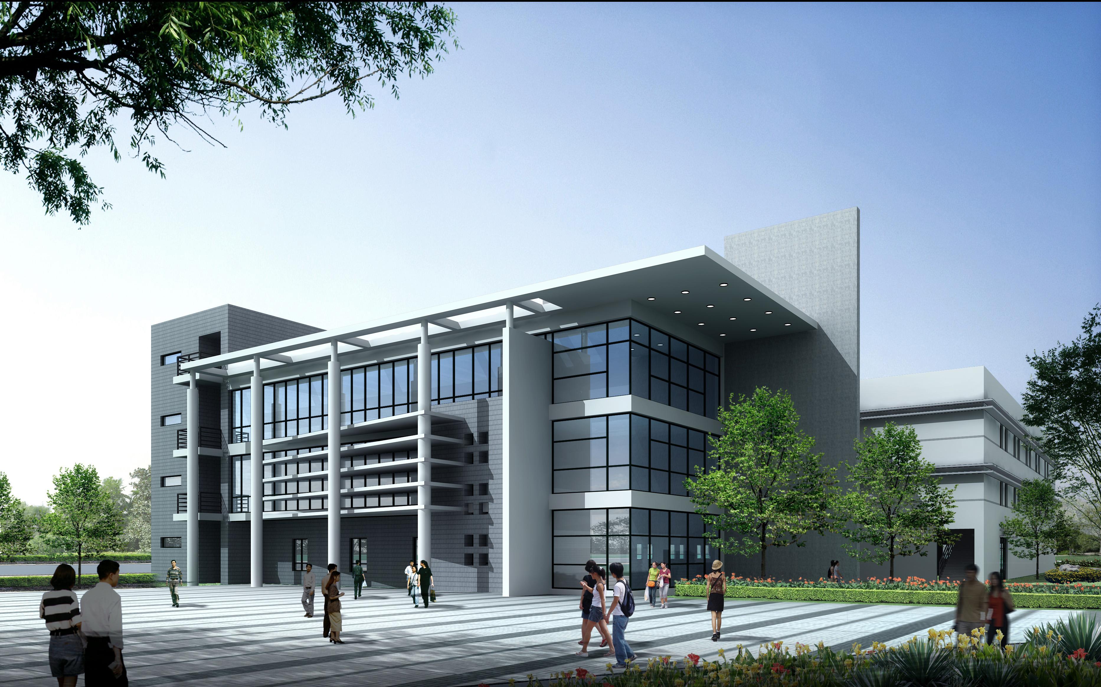 Architecture 133 school building 3d model for 3d house builder