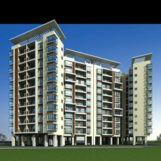 Architecture 142 High Rise Residential Building 3D Model