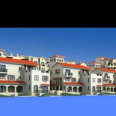 Architecture 148 Residential Building 3D Model