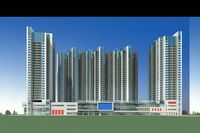 Architecture 157 High Rise Residential Building 3D Model