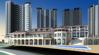 Architecture 161 High Rise Residential Building 3D Model