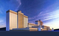 Architecture 176 Hotel Building 3D Model
