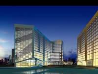 Architecture 180 office Building 3D Model