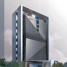 Architecture 186 office Building 3D Model