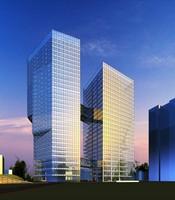 Architecture 207 office Building 3D Model