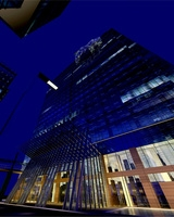 Architecture 212 Hotel Building 3D Model