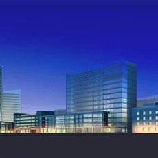 Architecture 220 office Building 3D Model
