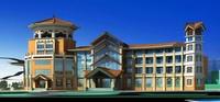 Architecture 248 Commercial Building 3D Model