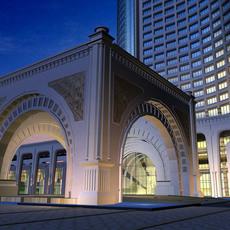 Architecture 257 Hotel Building 3D Model