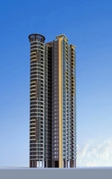 Architecture 260 High Rise Residential Building 3D Model