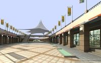 Architecture 262 Commercial Building 3D Model