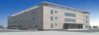 Architecture 266 office Building 3D Model