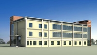 Architecture 270 School Building 3D Model