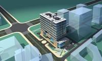 Architecture 276 office Building 3D Model
