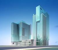 Architecture 282 office Building 3D Model